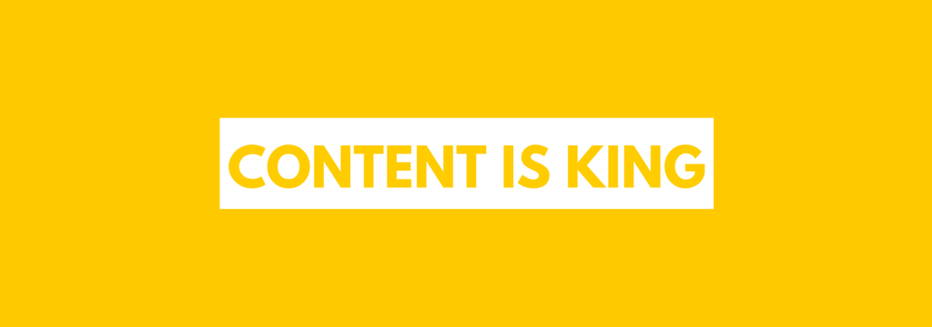 Content is King photo