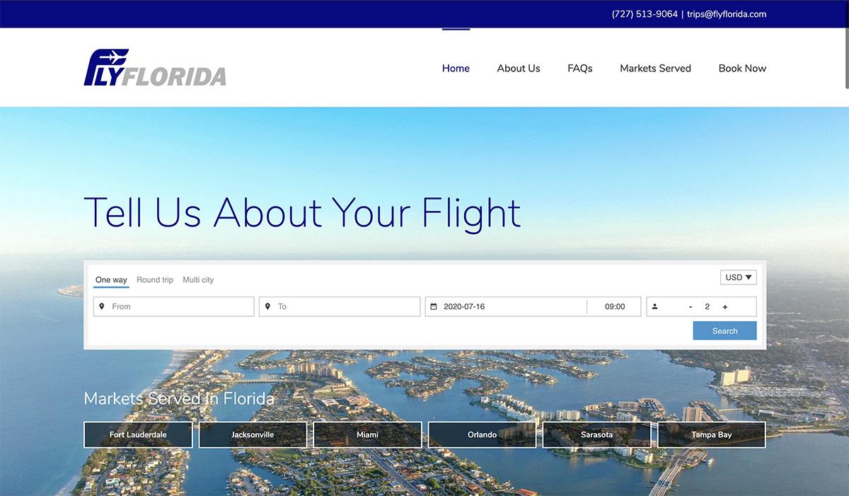 Air Charter Broker Website Design