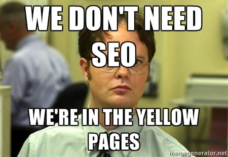 We don't need SEO meme