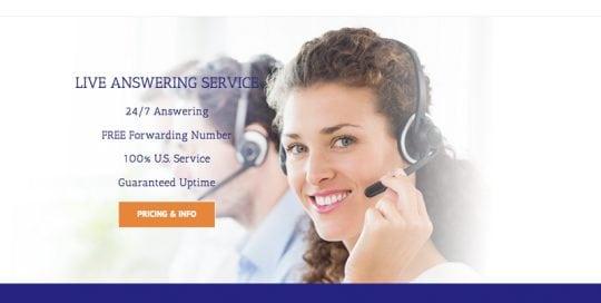AnswerFirst Website Screenshot