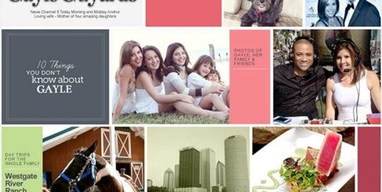 Gayle Guyardo Website Screenshot