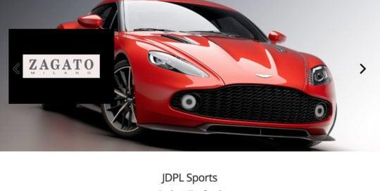 JDPL Sports Website Screenshot