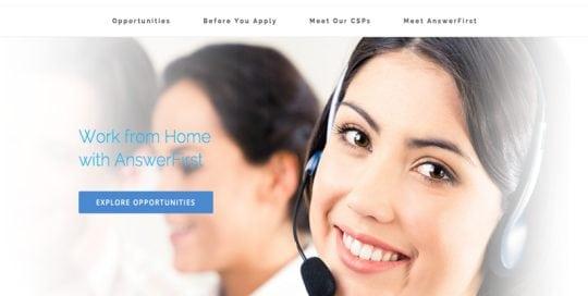 Join.AnswerFirst Website Screenshot