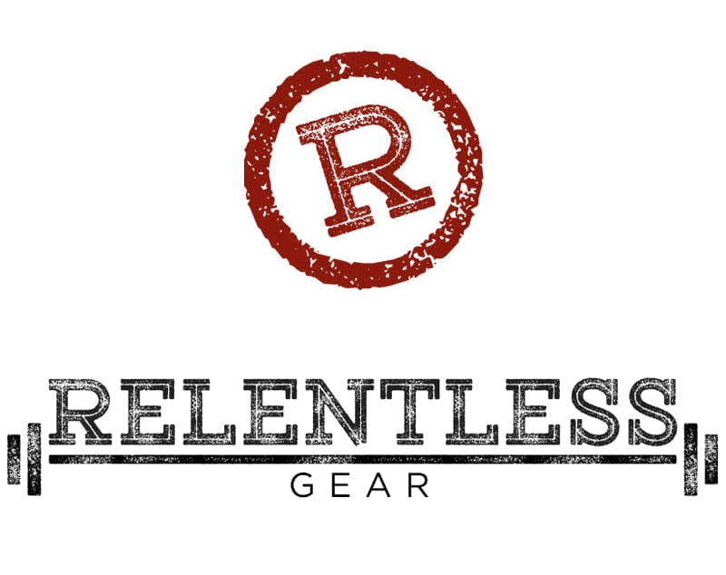 Relentless Gear Initial Logo Design