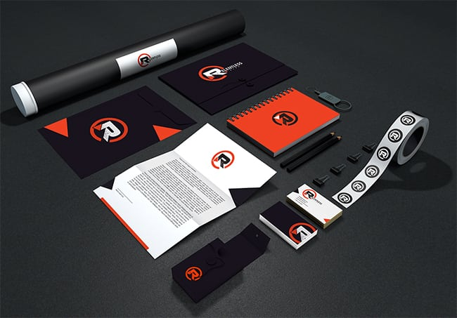 Marketing & Branding Materials for Relentless Gear Fitness Apparel
