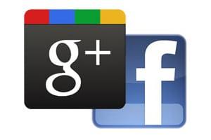 Facebook & Google Logos