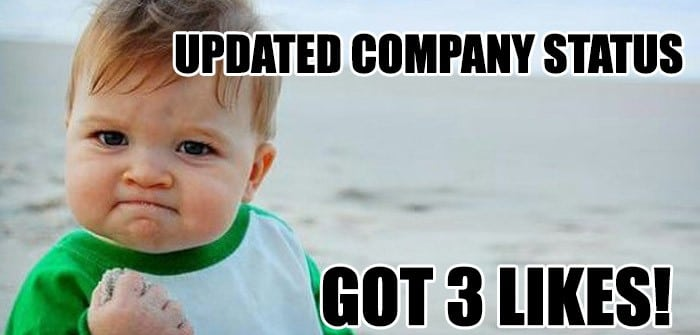 Updated Company Status Meme